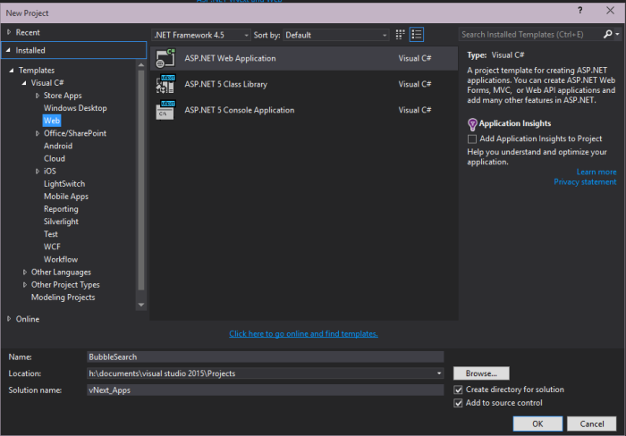 vs2015-new-webapp